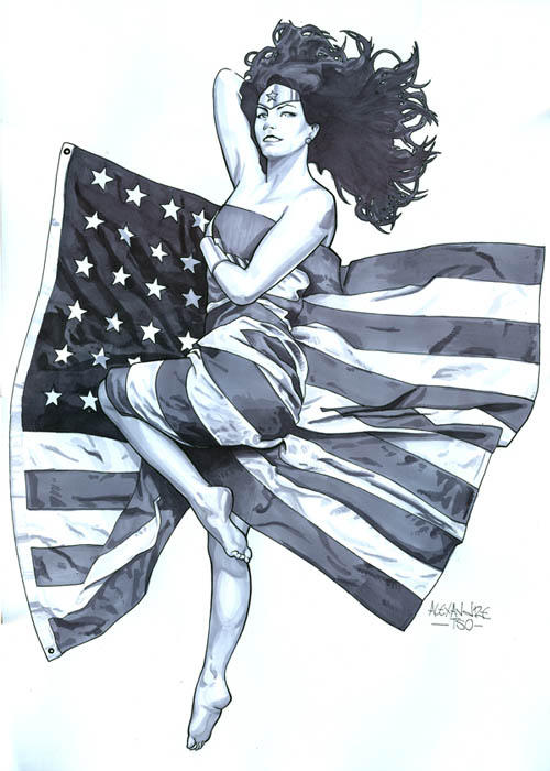 Wonder Woman Sketch II by alextso