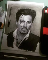 Johnny Depp by alextso