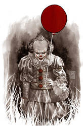 Pennywise by alextso