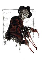 Freddy Krueger by alextso