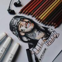 In memory of Lil Peep by lildans