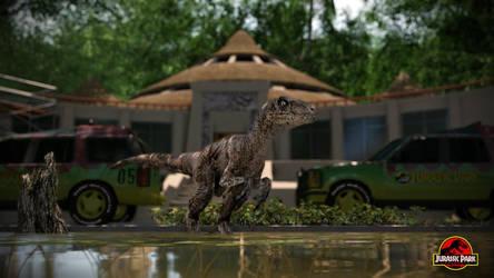 Jurassic park Aftermath by metonymic