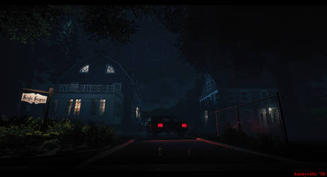 Amityville horror house  - Exterior by metonymic