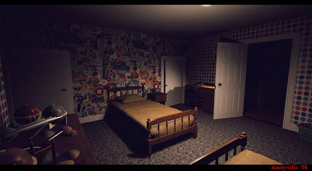 Amityville '76 -Game Dev by metonymic