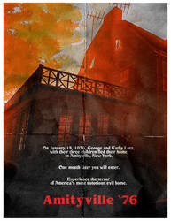 Amityville '76 - horror game - mock poster by metonymic