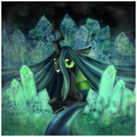 Crystalline Cavern by MamaJebbunFanart