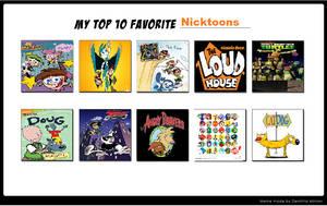 My Top 10 Favorite Nicktoons by SuperMarioMaster170