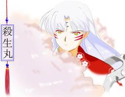 Sesshoumaru fanart by CBLe