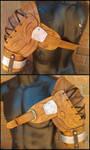 Iron Bull Shoulder Armor by JAFantasyArt