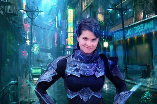 Cyberpunk Cosplay SPECTRE36 by JAFantasyArt