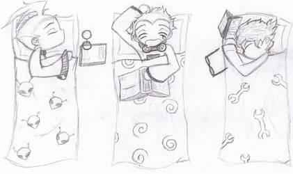 BGC_Sleepy Boys by love-eternal