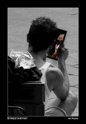 Streetartist by pdon