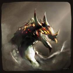 dragon by bingung