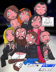 WWE: Smackdown Superstars by MissAbigailWyatt