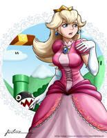 Princess Peach Perils by Furboz
