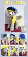 Derpy Hooves Mailmare Plush by Furboz