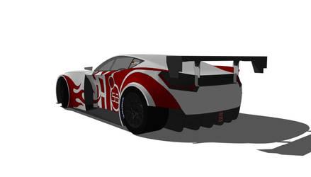 GT1 Muscle Car by medevac001