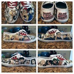 FMA/FMAB Shoes! by savanahbanana