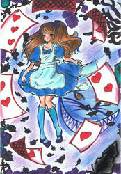 Alice in Wonderland by Ly-nn