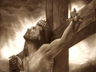 Jesus-Side-View-Tattoo-Design-1 by skeleton307
