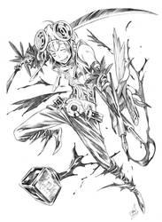 Eiji as CROW by tsulala