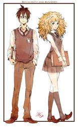 Harry and Hermi by tsulala