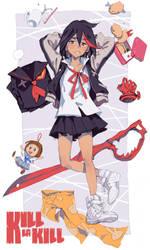 Ryuko by tsulala