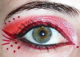 Red Make-up by Georgya10
