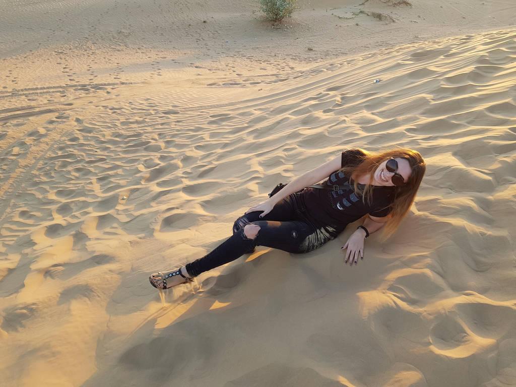 Dubai desert by Georgya10
