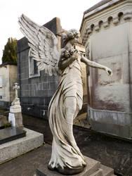 Cemetery angel 1 by dlambeaut