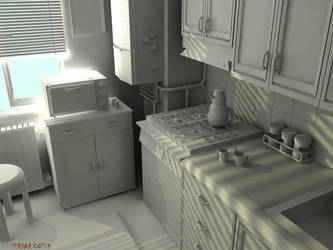 kitchen by serdarcotuk