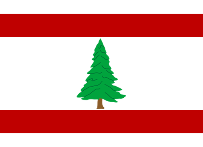 Fictive Flag New England 1 By Flaggentierchen