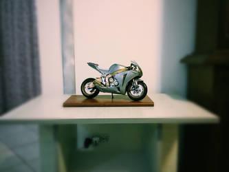 Honda CBR Model painted by me by GiuseppeIlSanto