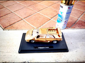 Lamborghini Diablo GOLD VERSION by GiuseppeIlSanto