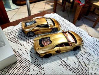 Lamborghini Uracan and Aventador Repainted  by GiuseppeIlSanto
