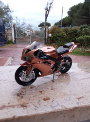 Yamaha R1 Repainted by Me by GiuseppeIlSanto