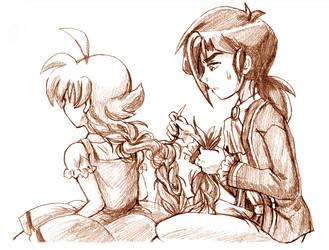 Fakir-Ahiru - Tangled by amako-chan