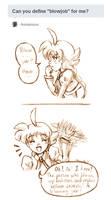 Ask Ahiru - Question 3 by amako-chan