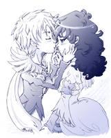 Princess Tutu - Nose smoochie by amako-chan
