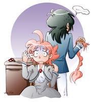 Fakiru Week 2013 - Hair-Raising Mistake by amako-chan