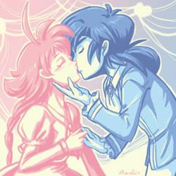 Princess Tutu - Fakiru - Colorful Kissies~ by amako-chan