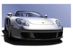 Porsche Carrera GT Vector by lxmcc