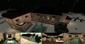 Minecraft Masion I by shadwgrl