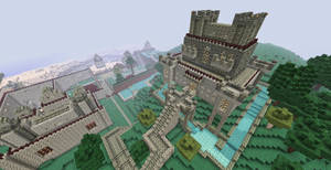 Minecraft Kingdom by shadwgrl