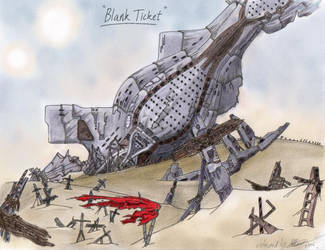 Collab - 'Blank Ticket' by illuminatus-shadow