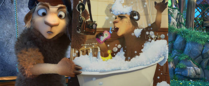 Ziko's Bubble Bath Photo by Boris8600