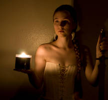 Candle light 2 by Sinned-angel-stock