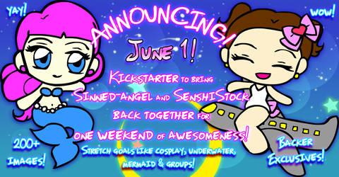Sinned-angel and SenshiStock collab Kickstarter!!! by Sinned-angel-stock