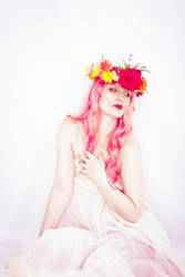 Flower crown 2 by Sinned-angel-stock