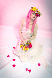 Flower crown 4 by Sinned-angel-stock